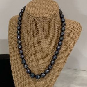 Black Honora freshwater pearl necklace